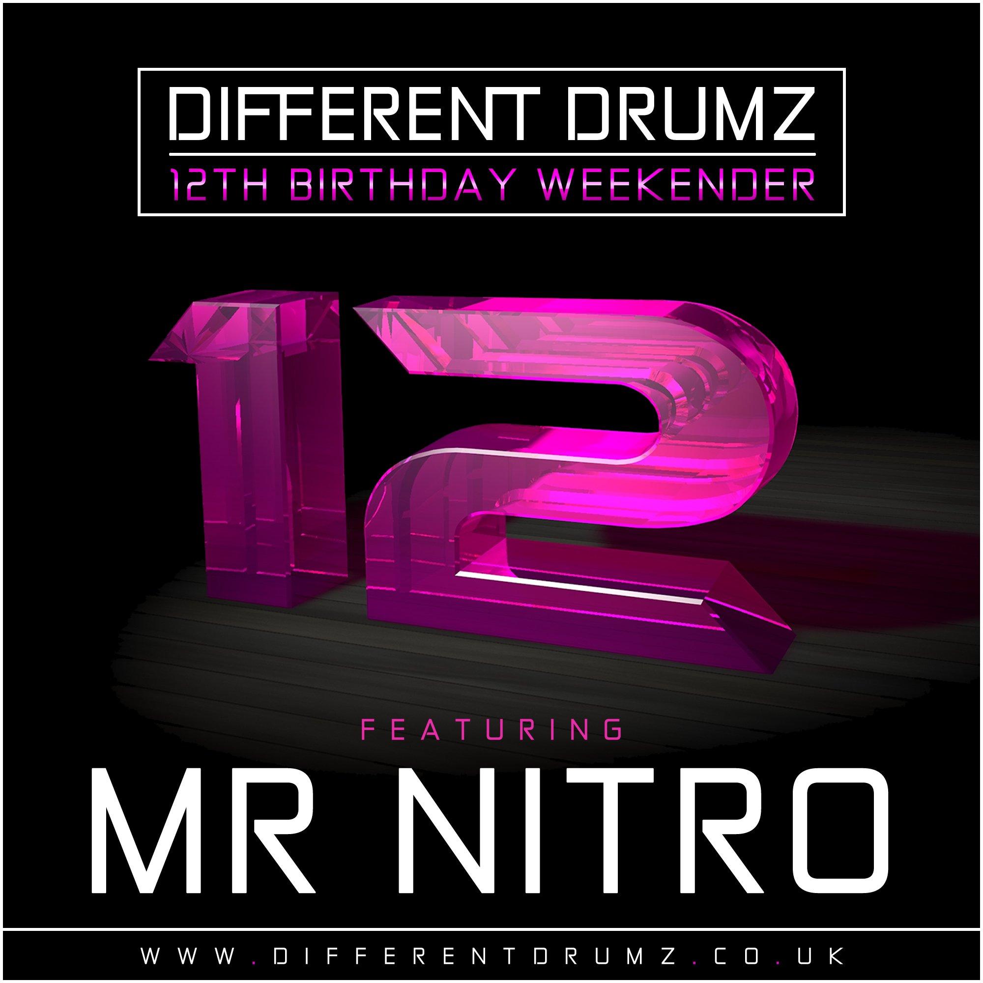 Mr Nitro Different Drumz 12th Birthday Mix